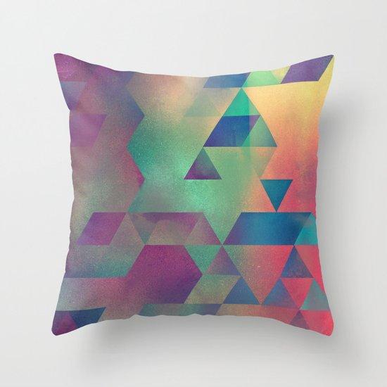 nww lyyse Throw Pillow