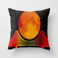 Night On The City - 006 Throw Pillow