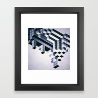 Yptycyl Ydyfyce Framed Art Print