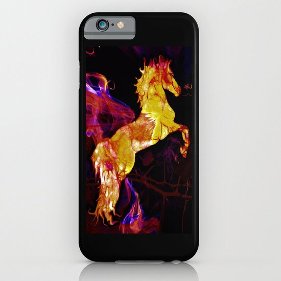 HORSE - War horse iPhone & iPod Case