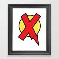 X-Statix Framed Art Print