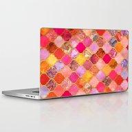 Hot Pink, Gold, Tangerin… Laptop & iPad Skin