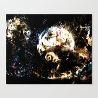 Nightmare Before Christm… Canvas Print