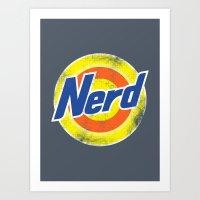 Nerd Art Print