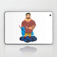 Paul Bunyan and Babe Laptop & iPad Skin