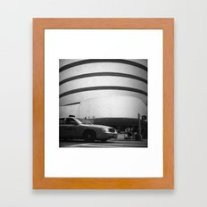 taxi // film // Framed Art Print