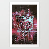 Panther Style. Art Print