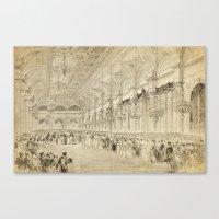 Grand Ball Hotel De Vill… Canvas Print