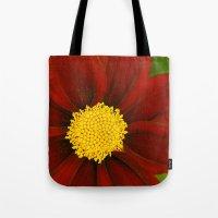 Ruby Coreopsis Tote Bag