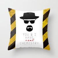 HEISENBERG BREAKING BAD … Throw Pillow