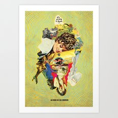 It's So Easy To Dream And So Hard To Say Goodbye Art Print