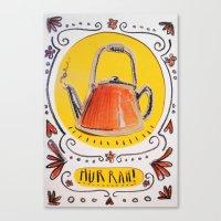 Big fat kettle Canvas Print