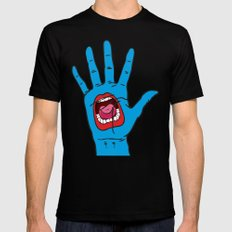 Hand SMALL Mens Fitted Tee Black