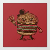 Scary Meal Canvas Print