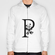 Letter Panda Hoody