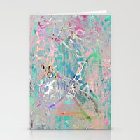 Graffiti Texture Stationery Cards