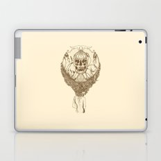 lady death // brown Laptop & iPad Skin