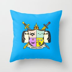 Heroooldry Throw Pillow
