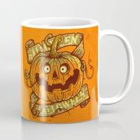 Halloween orange Mug