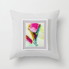 FRAME IN A FRAME Throw Pillow