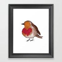 Another Bird Framed Art Print