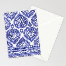Decorative Blue Stationery Cards