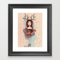 Good girls Framed Art Print