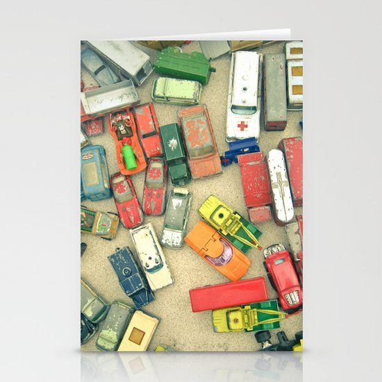 Traffic Jam Stationery Card