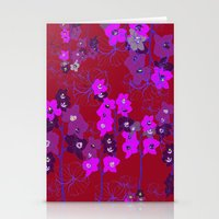Oriental Orchids Stationery Cards