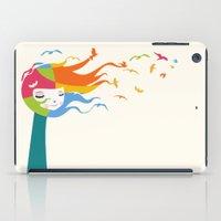 Birds Color iPad Case