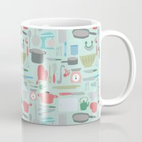 Kitchen Pattern Mug