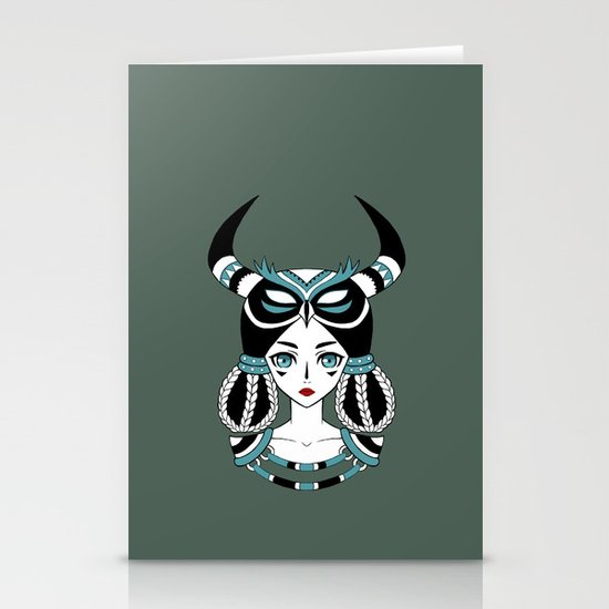 Owl Tribe Stationery Card