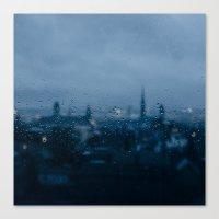 Rainy Rouen Canvas Print