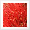 Red  &  Hairy Art Print