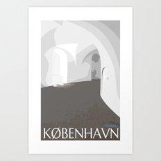 Rundetårn - Round Tower Copenhagen Art Print