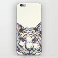Crystal Tiger iPhone & iPod Skin
