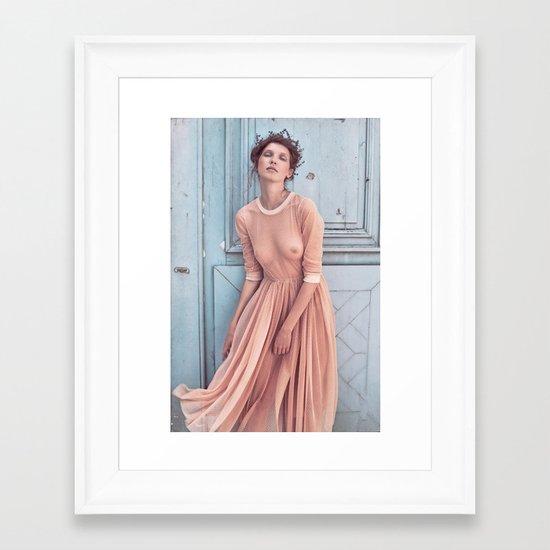Alena Framed Art Print