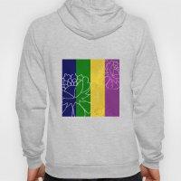 Chinese Flowers & Stripe… Hoody
