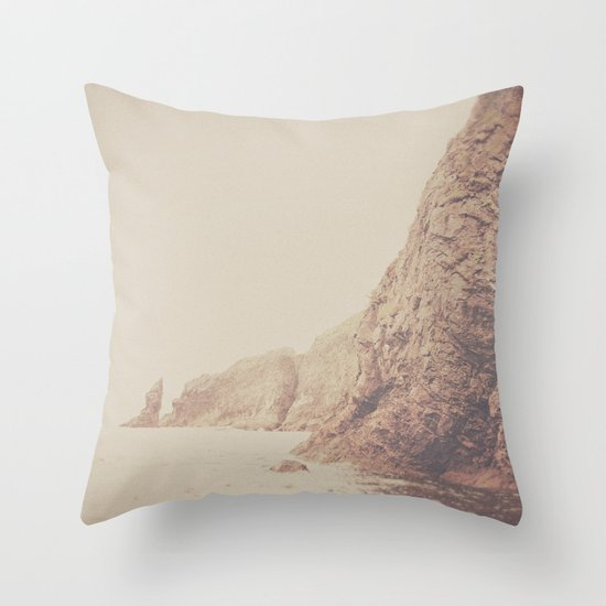 Rustic Ocean Throw Pillow