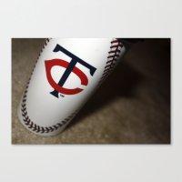 Minnesota Twins Cup Canvas Print