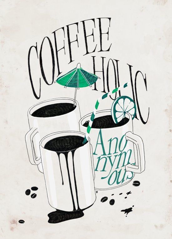Us And Them: Coffeeholic Anonymous. Canvas Print