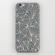 Ab Fan Grey And Nude iPhone & iPod Skin