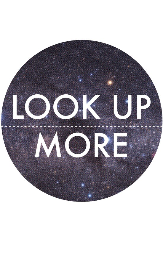 Look Up More Art Print