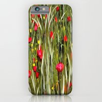Red Poppies In A Cornfield iPhone 6 Slim Case