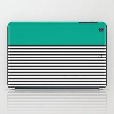 STRIPE COLORBLOCK {EMERALD GREEN} iPad Case
