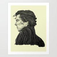 Sherlock Holmes ( Contou… Art Print