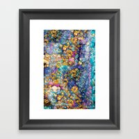 Magic Glitter Framed Art Print