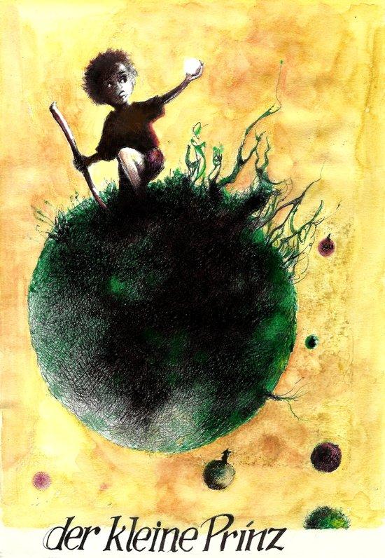 der kleine Prinz Art Print