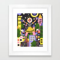 Girl Power Framed Art Print