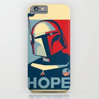 iPhone & iPod Case featuring Boba Fett for president  by Dr. Tom Osborne